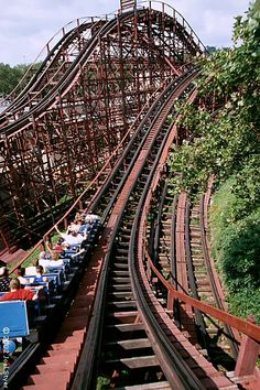 Ahh, the Racer at Kennywood Park
