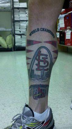 st. louis cardinals tattoo designs | world champion st louis cardinals tattoo