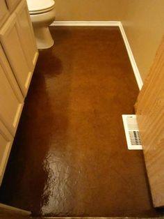 floor idea - Love this! Paper Floors