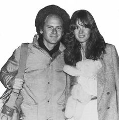 Art Garfunkel and Laurie Bird