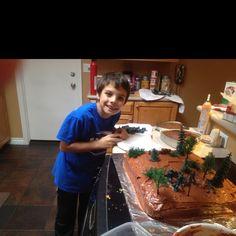 Cub Scouts Cake auction.