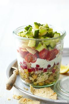 Picnic-in-a-Jar is perfect for your lakeside gathering!
