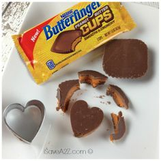 Chocolate Butterfinger Cup Shooters butterfinger cups, butterfing cup, candi