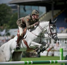 Show Jumping at Dublin Horse Show, RDS