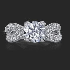 infinity~ bling, dream ring, idea, engagements, dream engagement rings, infinity rings, wedding rings, engag ring, bow ring