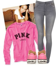 """Chilling with Dana.(: ~Leyah"" by verified-omgmonstah ❤ liked on Polyvore"