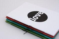 Love Blank Notebook by birddoodle on Etsy, $4.00