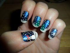 Christmas 2011 nails