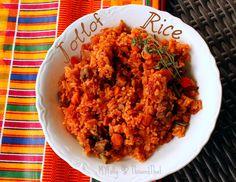 Jollof Rice - Traditional African Recipe #food #Africa #recipe