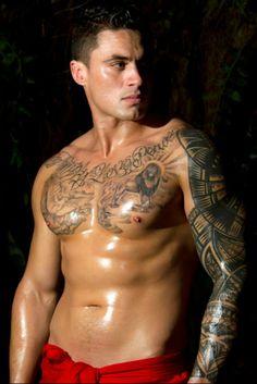 Ezra Taylor in new Sexy Samoan Men Calendar