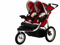 InStep Swivel Wheel Jogger-Double