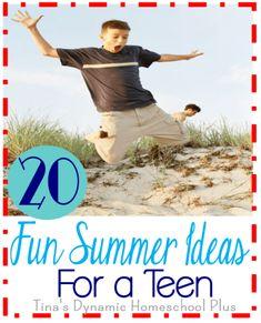 20 Fun Summer Ideas for a Teen