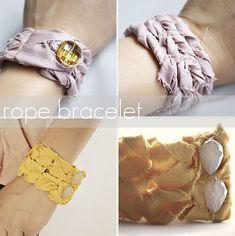 several diy bracelets