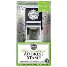 Three Designing Women Personalized Address Stamp Gift Certificate