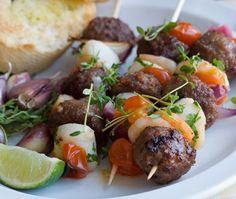 Hamburger Kabobs from @spicehunter - Sprouts Farmers Market #GreatGrillin