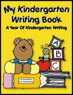 A year of kindergarten writing.