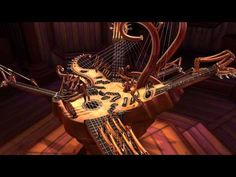 "Animusic HD - Resonant Chamber (1080p)  animated musical ""instrument"""