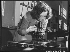 A biology student at Woodrow Wilson High School, Washington DC