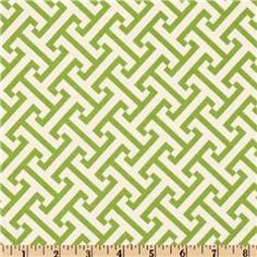 Waverly Cross Section Green fabric - $11.98/yd
