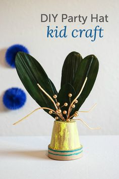 DIY party hat craft