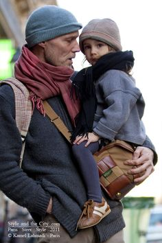 Father and son. Both have style! I love this #fatherhood #love #kids