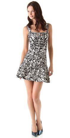 Urban Chic!!! Herve Leger Graffiti Printed Mini Dress - #chic #herve_ledger #mini #dress -- found on http://ethniceclectic.com