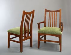 Artisan Arm and Side Chairs in Mahogany
