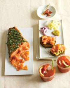 Gravlax with Sweet Mustard Sauce Recipe