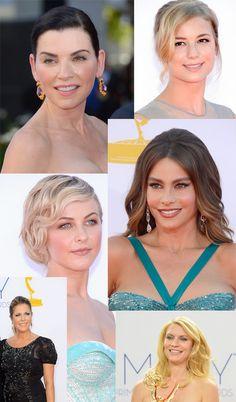 2012 Emmy Award Beauty Looks.