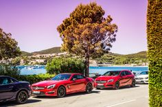 The AMG Driving Academy tours Cannes, 2014.