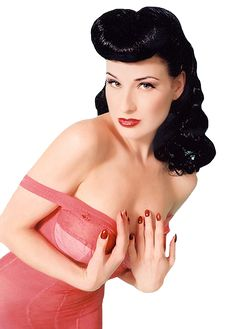 Dita rockabilly.  She is just perfect!