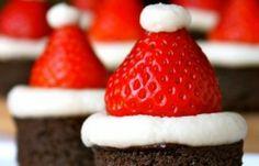 Christmas Party Santa Hat Treats