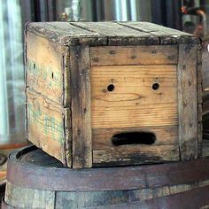 Found Faces - The Crate Face