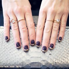 Office-Appropriate Nail Art: The Unexpected French Mani