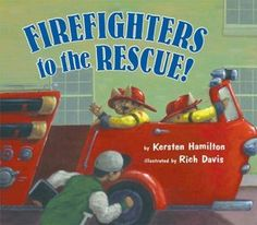 books, fire safeti, communiti worker, fire trucks, communiti helper, firefighters, fire fight, kid book, firefight bday