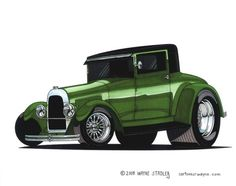 Willys Whippet Coupe