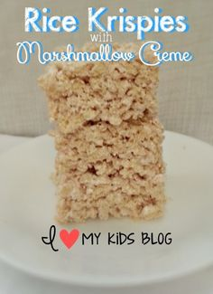 Best Ever Rice Krispie Treats! (One ingredient I never thought of ...