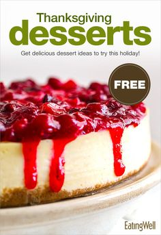 Don't miss our FREE Thanksgiving dessert recipe cookbook with fresh ideas to bring to the table