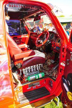 Van Interior by Barbusman, via Flickr