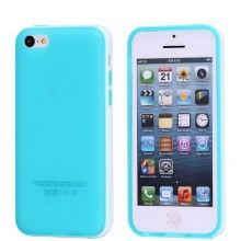 Funda iPhone 5C - Gel Azul Blanco  AR$ 38,76