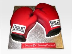 Boxing Theme Ideas   ... boxing gloves and in boxing short personalized boxing birthday