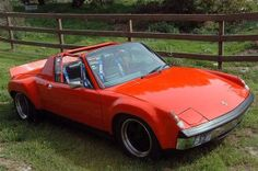This 1970 Porsche 914/6 GT is described as a true 914/6, but comes fitted with GT flares, a custom 3-liter with Cosworth pistons, and 46mm W...