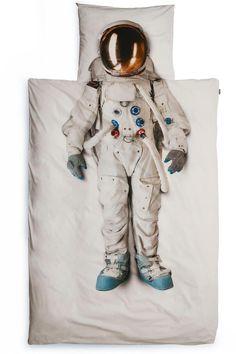 Brand new astronaut kids duvet by Snurk.