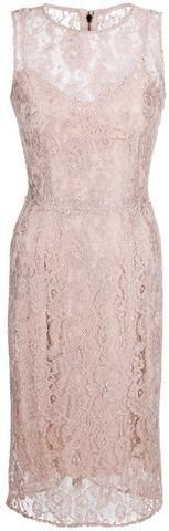 Dolce & Gabbana Beige Lace Dress - Pretty!