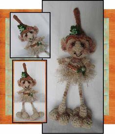 Gnome Goblin Elf Troll Crochet Pattern