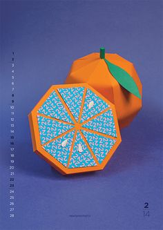 New Flavours: 2014 Calendar by Nearly Normal
