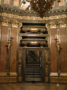 Where Spanish Royals go when they die. El Escorial, Spain