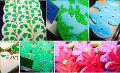 Earth day cookies- yum!  #preschool #earthday