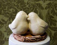 Love Bird Cake Topper - Etsy