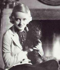 Tibby – Bette Davis' Scottish Terrier puppy.